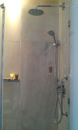 InterContinental Porto Palacio das Cardosas: The shower cubicle