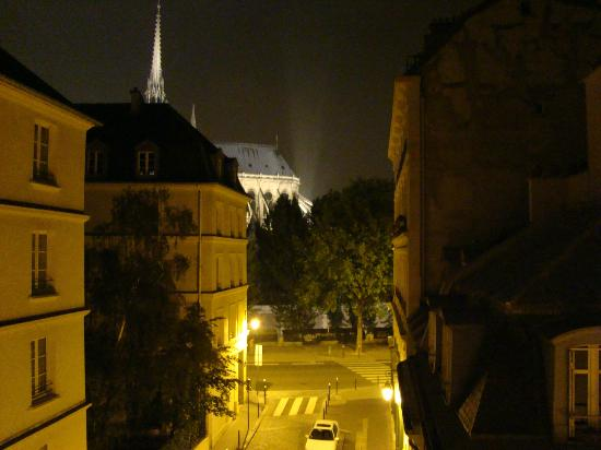 Melia Paris Notre-Dame: View from the room