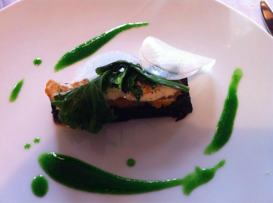 Restaurante Mina: Exquisito plato en Mina!