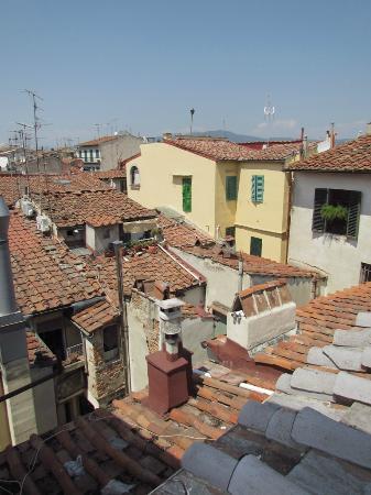 Hotel Dali: Hotel Dalì - app. Bella Vista - vista su tetti centro storico