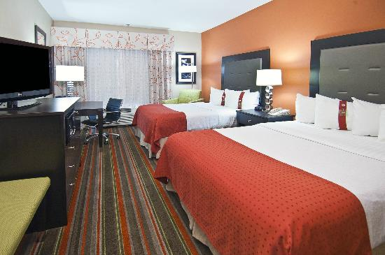 Holiday Inn Opelousas: Standard Double Queen Room