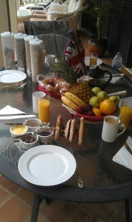 Sao Lourenco Bed and Breakfast: Breakfast