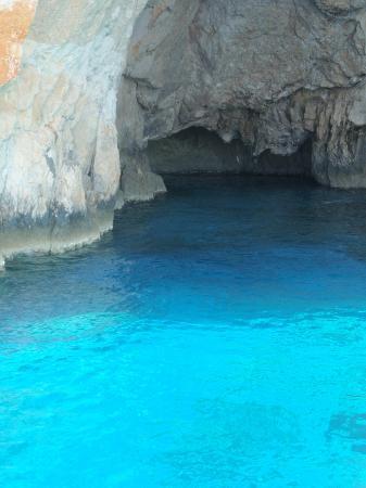 Keri Caves: mare Azzurro-tuchese-blu