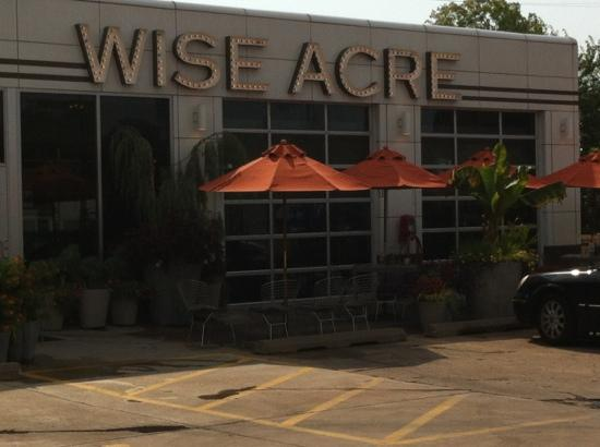 Wise Acre Eatery: Local Produce & Earthwise