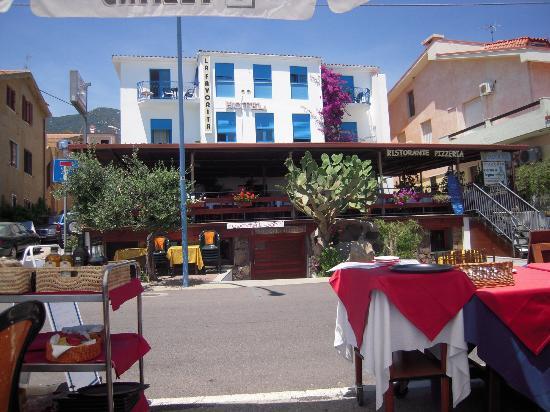 Hotel La Favorita: Dalla spiaggia