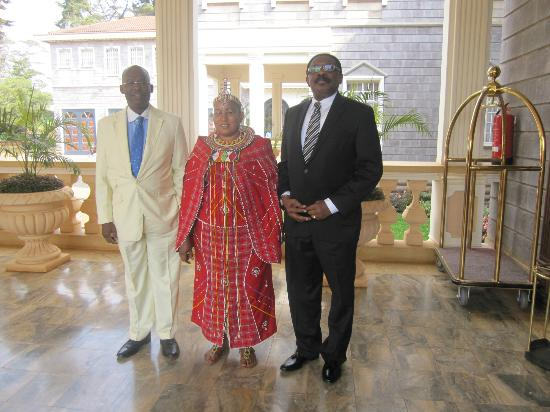 Sovereign Suites, Nairobi - Sun Africa Hotels: Welcome Staff dressed in traditional attire. Soo lovely