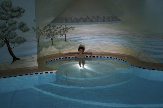 Hotel Paganella: piscina con idromassaggio