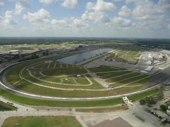Air Florida Helicopters: nascar track
