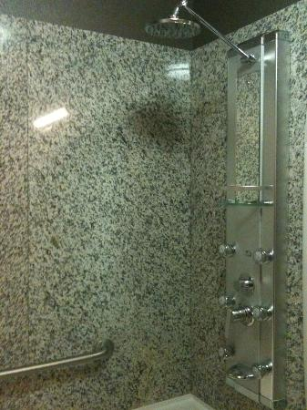 Acclaim Hotel Calgary Airport: Wonderful and devastaingly lovely shower!