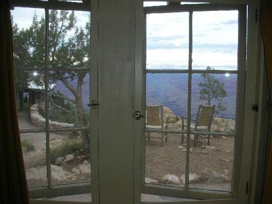 Bright Angel Lodge: View From Our Cabin #6145