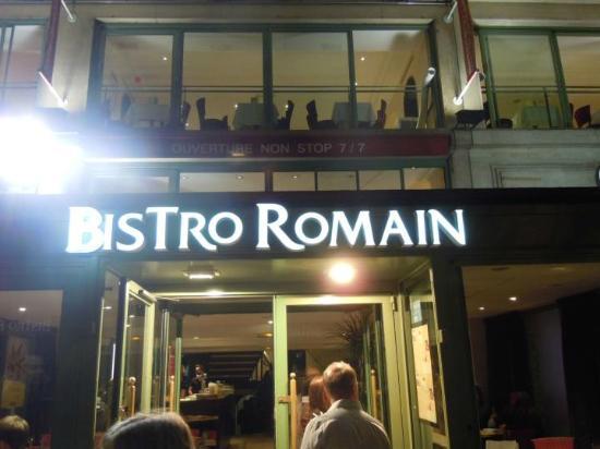Bistro Romain : ingresso