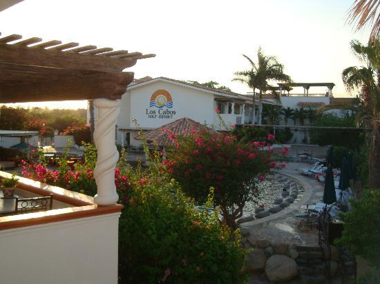 Los Cabos Golf Resort: La alberca vista desde el balcón