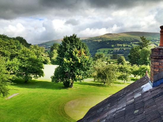 The Old Rectory Country Hotel and Golf Club: View from the dormer window in our room