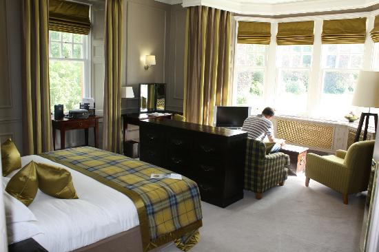 Isle of Eriska Hotel, Spa & Island: Room Kererra (Double Deluxe)