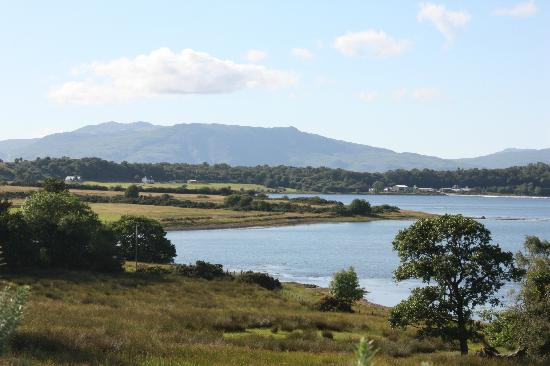 Isle of Eriska Hotel, Spa & Golf: Views from the highest point on the Island