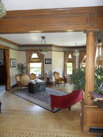 Rosedell Bed & Breakfast : Lounge area