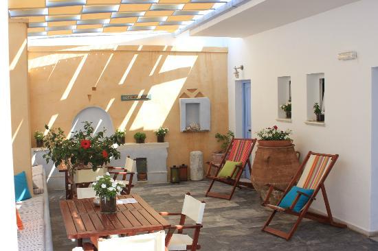 Argonauta Hotel: terrasse