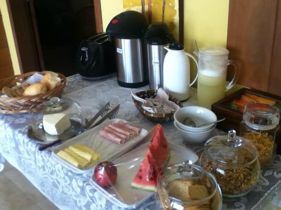 Pousada O Pescador: desayuno