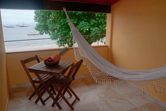 Pousada O Pescador: el balcon de la habitacion