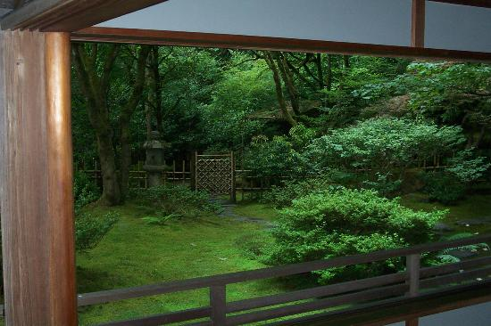 Portland Japanese Garden: View From Tea House