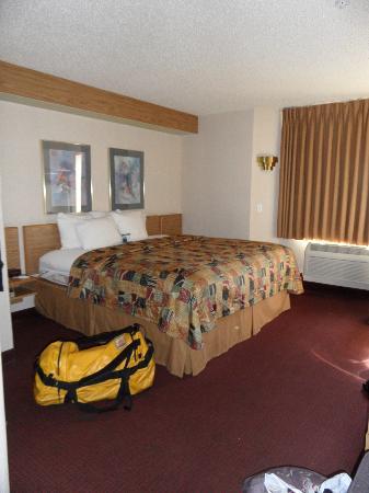 Our room at Sleep Inn
