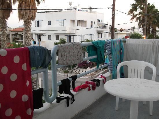 Elga Apartments: Balcony 1
