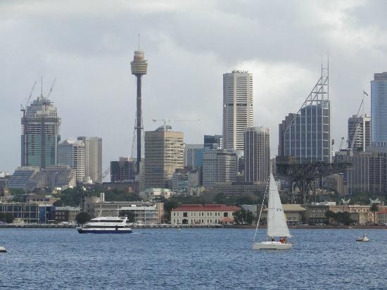 Manly Beach : Vista de Sydney desde el ferry