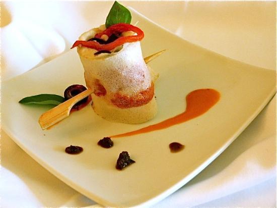 Restaurant Vilanova: Tapa de brandada