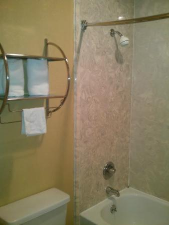 Motel 6 Memphis - Graceland : Bathroom/Shower