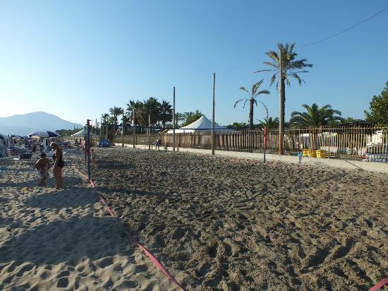 Villaggio le Palme: spiaggia