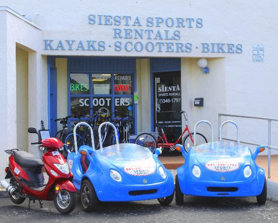 Siesta Sports Rentals: Scootercars