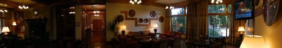 Hotel Kosten Aike: Lobby y sala de estar