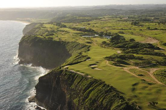Royal Isabela : Areal shot of the Golf Course