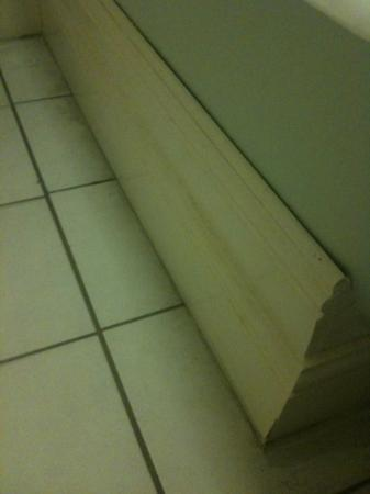 Union Hotel : the picture doesn't do it justice, but this skirting board in the bathroom was dusty and worse s