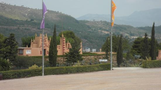 Albinyana, Spanje: Exterior del parque