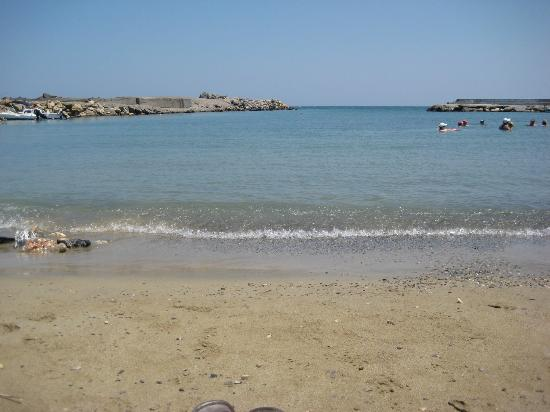 The small beach in front of aphrodite hotel picture of for Small beach hotels