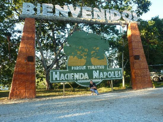 Puerto Triunfo, Colombia: área del parque