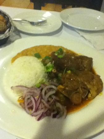 El Chalan Restaurant: Goat