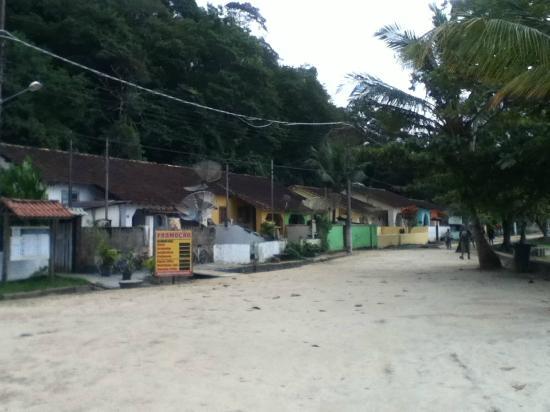 Abraao Cove: el pueblo