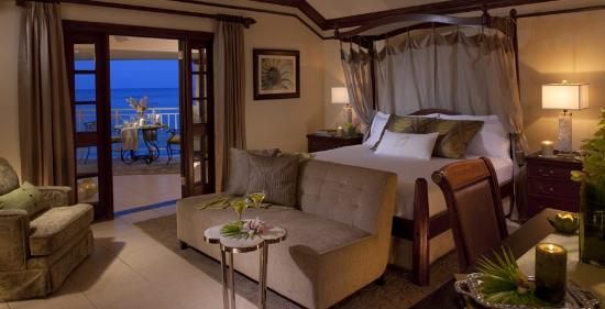 Sandals Royal Plantation: St. Ann Honeymoon Oceanfront Verandah Suite