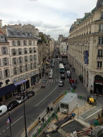 Hotel Pont Royal: View from our balcony (construction is temporary)