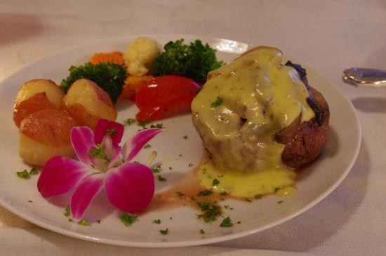 Stirling Guest Hotel: Filet mignon