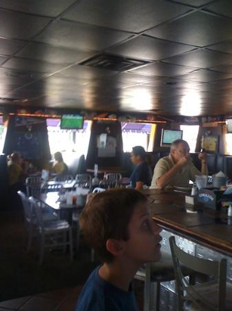 Soccer Taco Sports Bar & Tc's: booths,tables,& lots of tv's!
