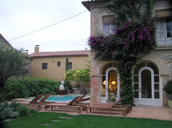 L'Hort de Sant Cebrià: hotel pool