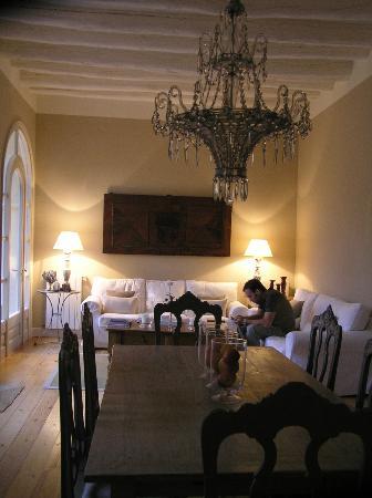 L'Hort de Sant Cebrià: the living room
