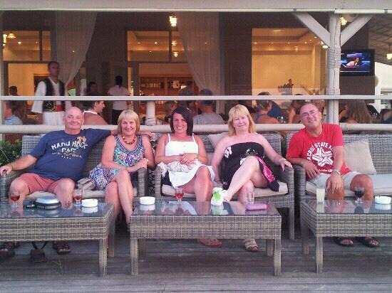 Zante Maris Hotel: chilling on the deck