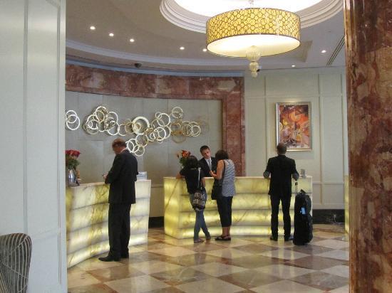 InterContinental Moscow Tverskaya Hotel: Recepción