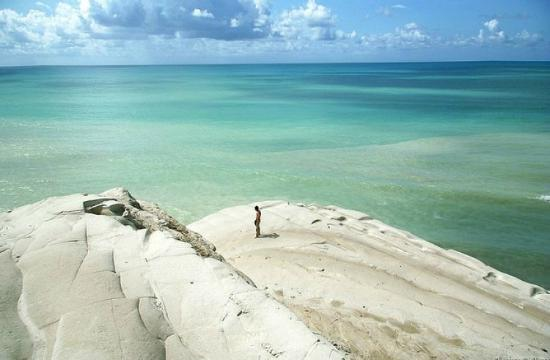 白悬崖海滩