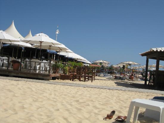 Hotel Morabeza: resto sur la plage