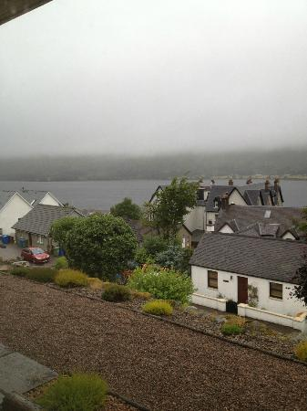 St. Anthony's B&B: Lovely view even if a wet day